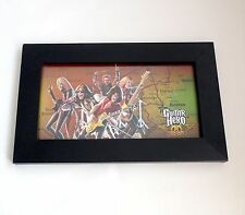Guitar Hero-Aerosmith- Limited Glass Framed Art Print-  Blockbuster Exclusive