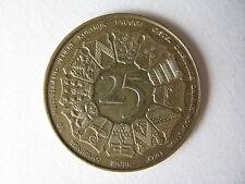 Munt 25 frank West-Vlaanderen 1980