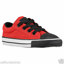 CONVERSE Chuck Taylor Ill OX Toddler Shoes sz 3 Red Black White All Star CT
