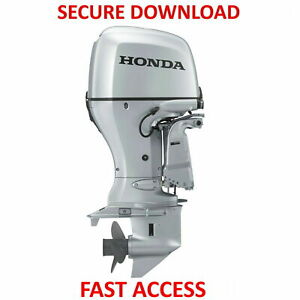 Honda Outboard Service Manual Collection BF40A BF75A BF135A BF175A - FAST ACCESS