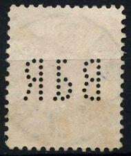 "Romania 1893-1919, 50b Perfin Used ""BdR"" #D50129"