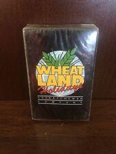 Vintage Wheat Land Holidays Saskatchewan Canada Playing Cards New Sealed 1980's