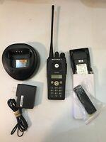 Motorola PR400 UHF Radio 64 CH 438-470 Display-Full Keypad CP200 Very Clean