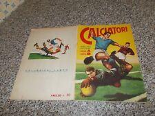 ALBUM figurine CALCIATORI 1959 1960 LAMPO COMPLETO ORIGINALE BELLO TIPO PANINI