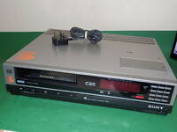 SONY BETAMAX SL-C20UB VCR VIDEO CASSETTE RECORDER Vintage FAULTY C20 PAL