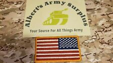 New listing U.S. Army ReverseAmerican Flag Full Color Patch With Velcro® Fastener