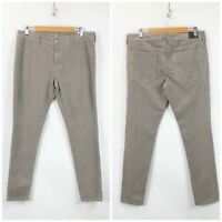 American Eagle 16 Womens Taupe 360 Super Stretch Corduroy Skinny Pants