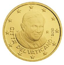 Rare : 50 cts cent Euro Vatican 2010, neuves du rouleau, UNC