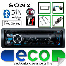 Fiat Grande Punto Sony MEX-N5100 CD MP3 USB Bluetooth Iphone Car Stereo Kit Grey