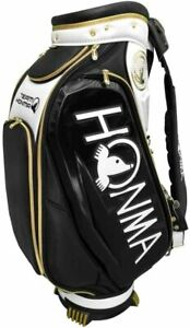 NEW 2021 HONMA Golf Official Tour Release Staff Bag 9.5'' White / Black