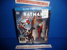 Batman and Harley Quinn Best Buy Exclusive Blu-Ray + DVD + Digital w/ Figure NEW