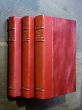 C. Fauriel HISTOIRE DE LA POÉSIE PROVENÇALE Complet en 3 volumes 1846 PROVENCE
