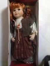 MUÑECA PORCELANA 30 CMS nº9 NUEVA EN CAJA DOLL POUPEE boneca