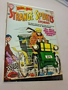 The Brave and the Bold Presents Strange Sports Stories No.48 July 1963 DC Comics