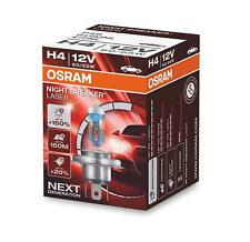 Osram H4 Night Breaker Laser Next Generation +150% 12V 60 55W P43T KFZ Motorrad