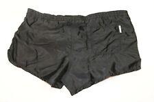 vintage Nylon Shorts Rucanor shiny Gr. 7 L XL 80s kurze Hose Sporthose 80er VS3