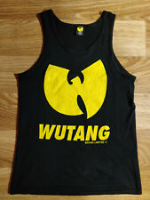 Wu-Tang Limited O.G. Tank Top Shirt Jersey Singlet Black Yellow Hip Hop RZA GZA