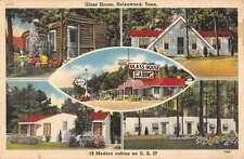 Helenwood Tennessee Glas House Cabins Multiview Antique Postcard K18218