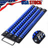 80pcs Socket Storage Rack Tray Rail Holder Organizer Tool Set 1/4 3/8 1/2 Drive