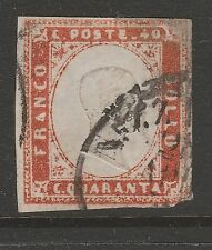 Handstamped Postage Italian Stamps