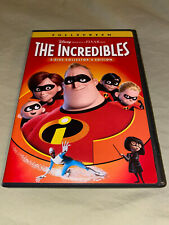 The Incredibles Dvd 2-Disc Set Fullscreen Collectors Edition Disey Pixar Movie