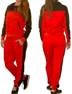 Women Activewear TrackJacket TrackPant Jogger outfit Tracksuit Jogging suit set