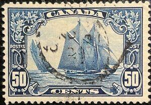 Canada 1929 Bluenose Sc #158 VF SON