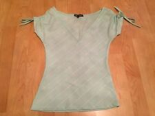 Unbranded Short Sleeve Solid Tops for Women