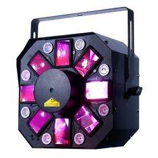 American DJ Adj Stinger II 3FX-in-1 Cluster Laser Moonflower Effect Strobe