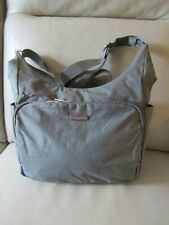 baggallini Gray Cross Body/Shoulder Bag Adjustable Strap Side Pockets