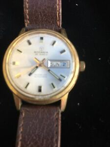 Rodania Mens Watch 25 Jewels Incabloc Automatic