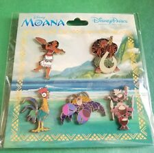 Disney Pins Moana Booster Set AUTHENTIC NEW FREE SHIPPING