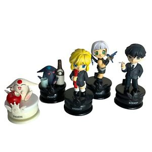 Clamp No Kisekii Anime Chess Pieces Set of 5 - Rook, Knight, Bishop & 2x Pawns