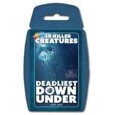 Top TRUMPS DEADLIST Down Under Card Game Wma001605