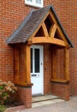 OAK PORCH, traditionally made green oak frame, ,  garage, self build  ENGOAK4