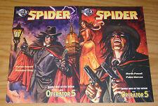 the Spider #1-2 VF/NM complete series - moonstone comics - dan brereton set lot