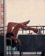 Jack Vettriano greeting card - The Temptress