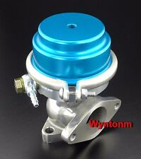 38MM External Wastegate 7 PSI Turbo Stainless Steel Dump Valve Blue C II