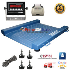 Op 917 Drum Floor Scale With Printer Legal For Trade Ntep 2000 Lb X 5 Lb
