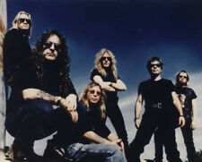 Iron Maiden UNSIGNED photo - K8273 - Bruce Dickinson and Steve Harris