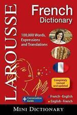 Larousse Mini Dictionary French-English/English-French by Larousse (2012,...