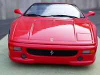UT Model Red Ferrari F355 Spider 1:18 Convertible Cabrio Toy Car Collectable