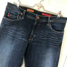 AG The Fillmore Denim Jeans 32x32 Stretch Dark Wash Whisker Adriano Goldschmied