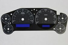 07-14 CUSTOM CARBON FIBER ESCALADE SPEEDOMETER CLUSTER GAUGE FACE INLAY ONLY