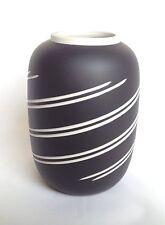 Stylish Wedgwood Basalt Vase - Wedgwood Black vase