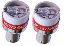 Pair of 2 x 12V Reversing Buzzer Beeper Back Up Alarm Warning Alert Lights Bulbs