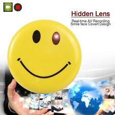Smile Face Badge Mini DV HD CCTV Spy Camera DVR Nanny Hidden Video Recorder TL