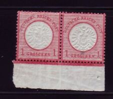 GERMANY Sc 17 NH ISSUE OF 1872 - RARE PAIR
