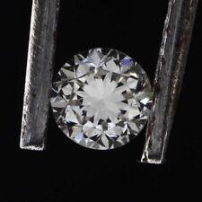 Round Brilliant Cut White G Color 0.15 Carat SI1 Clarity Natural Polish Diamond