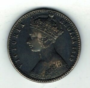 1849 Victoria silver Florin Two shilling coin - 11.3g